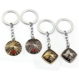 $enCountryForm.capitalKeyWord Australia - Japan Cartoon NARUTO figure Keychain Anime Key Ring cospla Key Chain Sasuke Gaara Holder Pendant gift women children jewelry