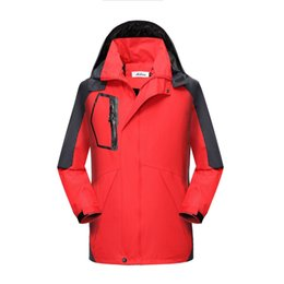fur manufacturers NZ - Spring And Autumn Men And Women Single Layer Outdoor Waterproof Jacket Thin MEN'S Outdoor Jacket Manufacturers Customizable Prin
