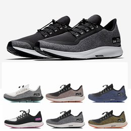 Zoom Pegasus 35 Shield utility Reflective Olive Green Turbo Mens Runing  Shoes Marathon 35s Sports Women Sneakers for Men Trainers Size 45 2556e0b41