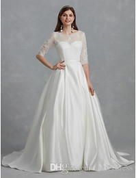 $enCountryForm.capitalKeyWord Australia - 2019 Lace Wedding Dresses New Design Long Brides Dresses Beautiful Party Dresses Wedding Chinese Factory High Quality Man Made