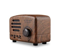 Mobile Interfaces Australia - Wireless Bluetooth Speakers Radio BT01 New Retro Cute Mini Bass With TF Card Interface Bluetooth V4.2 Speaker Innovative GifHiFi