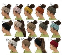 $enCountryForm.capitalKeyWord Australia - Women C Knitted Cable Headband Winter Headwrap Hairband Crochet Turban Head Band Wrap Colorful Ear Warmer Brand Headbands Hair Accessories
