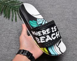 Best Designer Sandals Australia - NEW Designer slipper Gear bottoms mens striped sandals causal Non-slip summer huaraches slippers flip flops slipper BEST QUALITY