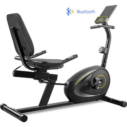 Wholesale Recumbent Exercise Bike with 8-Level Resistance, Bluetooth Monitor, Easy Adjustable Seat, 380lb Weight Capacity