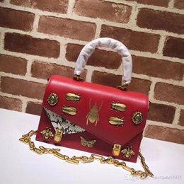 Wholesale Cowhide Handbag Australia - Toppest Quality 25CM Cowhide Leather Classic Elegant Style HandBag Gift for wife Single Shoulder Bag for Wedding