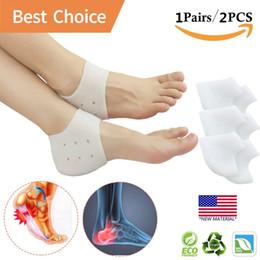 05dafc7fbc Heel Cups, Plantar Fasciitis Inserts, Gel Heel Pads Cushion *New Material*  Great for Heel Pain, Heal Dry Cracked Heels