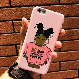 Clothing, Shoes & Accessories 2bunz Melanin Poppin Pink Princess Girls Hard Phone Cases For Apple Iphone X 10 5 5s Se 6 6s Plus 7 Xs Max Xr 8 8plus Bags Cover