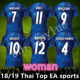 real madrid modric jersey 2019 - Top Thailand 2018 2019 EA sports real  Madrid woman 10 c3bfc2128