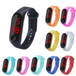 $enCountryForm.capitalKeyWord Australia - Outdoor waterproof Watches Led electronic watch touch meter three generations sports fashion student children's electronic watch gift