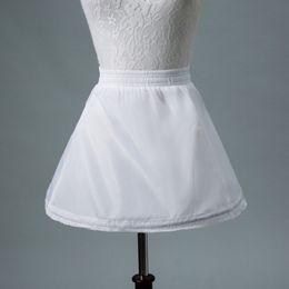$enCountryForm.capitalKeyWord Australia - No Hoop White Tutu Skirt For Flower Girl Dresses Kids Short Petticoat Child Short Crinoline Petticoats Girls Underskirt CPA1193
