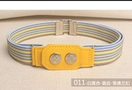 $enCountryForm.capitalKeyWord Australia - New fashionable waistband for boys and girls, elastic belt, elastic belt to prevent children from dropping trousers, military training for c