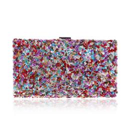 $enCountryForm.capitalKeyWord Australia - Elegant Ladies Evening Clutch Bag with Chain Color Stone Shoulder Bag Women's Falp Handbags Purse Wallets for Wedding