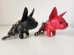 Backpack Keychains Australia - Fashion Key Chain Unisex Creative PU Animal Dog tassel Key Rings Car Keychains men women Bag Backpack Chain pendant Charm Jewelry Accessory