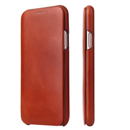 flip phone cases for iphone Australia - For iphone X XS mobile phone case iphone XS Max flip Genuine leather protective case For iphone XR card leather case