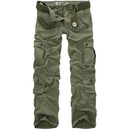 tactical military camping men pants Australia - Men four seasons Tactical Military Sports Hiking Pants Male Outdoor Multi-pockets Windproof Camping Trekking Cargo TrousersMX190904