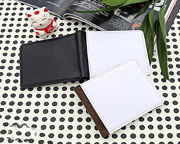 Discount sublimation printing for wholesale - 3pcs 2019 men wallet for sublimation man wallet with Single sids printing thermal transfer printing blank purse