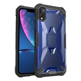 Robot phone cases online shopping - Robot PC Case for iPhone XS MAX XR Phone Protective shell TPU Shockproof Defender Cover Case for iPhone X Plus