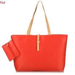 $enCountryForm.capitalKeyWord Australia - Wholesale-Hot Outlet Handbag Women Bags Casual Leather Handbag Bolsas Ladies Shoulder Bags Shopping Solid Totes With Coin Holder SV029534