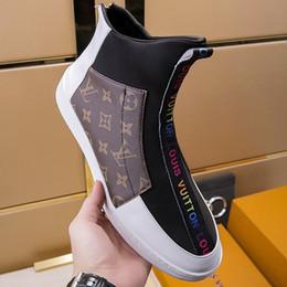 $enCountryForm.capitalKeyWord Australia - Mens Fashion Ankle Boots Dress Shoes Footwears Chaussures pour hommes Casual Shoes for Men Bottes Hommes Fashion Shoes Zipper Style Hot