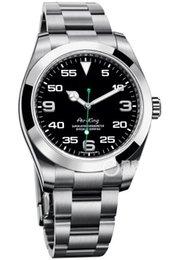 Venta al por mayor de Top Brand l Acero inoxidable Cristal de zafiro Espejo Automático Mecánico Hombres Relojes para hombre Relojes
