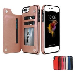 $enCountryForm.capitalKeyWord NZ - Retro PU Leather Case For iPhone XS MAX XR X 6 7 8 Plus Multi Card Holders Phone Case For samsung S8 S9 S10 PLUS NOTE 8 9 wallet case Cover