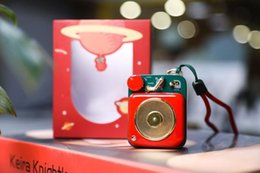 $enCountryForm.capitalKeyWord Australia - Christmas new MAO KING Atomic phonograph B612 mini Speaker Lucky Red Bluetooth Wireless Retro Music Metal Player FM radio MW-P1
