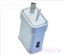 $enCountryForm.capitalKeyWord Australia - 100pcs lot 5V 2A 1.5A AU Plug USB Ports Home Travel Wall AC Power Charger Adapter For Samsung Galaxy S6 S7 edge plus S5 iphone