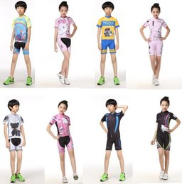 $enCountryForm.capitalKeyWord Australia - Children Bike Clothing Riding Cycling Jersey girls Boys Bicycle Sportwear ,running hiking camping shooting extreme challenges sport clothes
