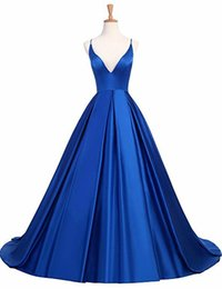 $enCountryForm.capitalKeyWord Australia - women Sexy Deep V neck dress strap Dresses Multicolored Long Banquet night evening party cocktail Dresses