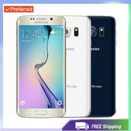 Discount samsung lte phones - With Free Gift For Refurbished Samsung Galaxy S6 Edge Original G925 Unlocked Phone Octa Core 3GB RAM 32GB ROM 4G LTE 16M
