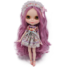 $enCountryForm.capitalKeyWord Australia - Blyth Doll BJD, Neo Blyth Doll Nude Customized Frosted Face Dolls Can Changed Makeup and Dress DIY, 1 6 Ball Jointed Dolls SH190909