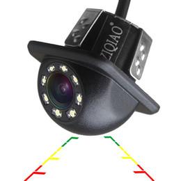 Großhandel ZIQIAO Auto Rückfahrkamera Universal Backup-Rückfahrkamera 8 LED Nachtsicht