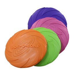 $enCountryForm.capitalKeyWord Australia - Pets Frisbee Bite Resistance Soft Swim Flying Disc Dog Special Purpose Train Interaction Toys Fly Saucer Factory Direct Selling 3 2hz p1