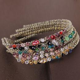 $enCountryForm.capitalKeyWord Australia - Cheap Jewelry Cheap Beauty Crystal Hairband Girls Hair Accessories Handmade Rhinestone Headbands For Women Hair Jewelry