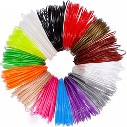 plastic filament UK - 3D Printing Material 3m x 12 colors 3D Pen Filament PLA 1.75mm Plastic Refill For 3D Impresora Drawing Printer Pen Pencil
