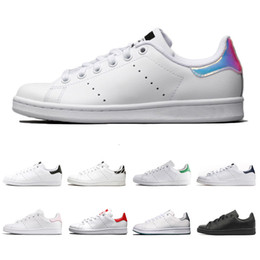 $enCountryForm.capitalKeyWord Australia - discount stan fashion smith mens girl womens green black red bule designer casual shoes leather sports sneakers size 36-45 drop shipping