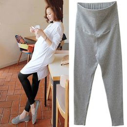 $enCountryForm.capitalKeyWord Australia - 2019 New Design Knitted Leggings For Pregnant Women Pants Spring Autumn Maternity Clothes Comfy Cotton Long Trousers Dropship