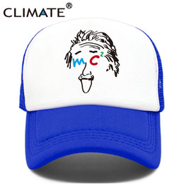617c2181 CLIMATE Black Hole Einstein Trcuker Cap Space Relativity Galaxy Men Hat  Trcuker Cap Caps Men Women Funny Cool Mesh Hat