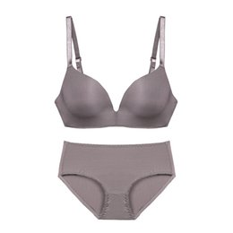 123588f4b8 2019 New Seamless Women Underwear Hot Sale Set Sexy Bra Embroidery  Comfortable Bra Sexy Lingerie Set Push Up Bra Sets 12552