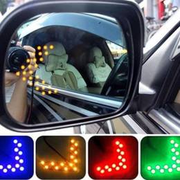 car signals mirror lights Australia - KAKUDER 2019# New 14 SMD LED Arrow Panel For Car Rear View Mirror Indicator Turn Signal Light Car Accessories #30