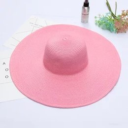 $enCountryForm.capitalKeyWord UK - 2019 Wide Brim Floppy Fold Sun Hat Summer Hats for Women Out Door Sun Protection Straw Hat Women Beach Hat