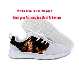$enCountryForm.capitalKeyWord Australia - 2019 Hot 3D Print Character God Of War Kratos New Men Women Casual Shoes Unisex Lightweight-Breathable Custom DIY Sports Shoes