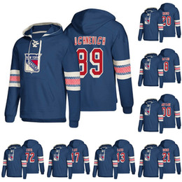 New York Rangers Brady Skjei Mats Zuccarello Mika Zibanejad Jimmy Vesey Chris  Kreider Pavel Buchnevich Jesper Fast Hockey Hoodies 80a59631c