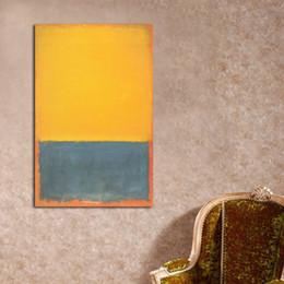 $enCountryForm.capitalKeyWord Australia - Mark Rothko Classical Handpainted & HD Print Abstract Art Oil Painting On Canvas Wall Art Home Deco High Quality g167