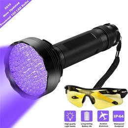 pet travels NZ - UV Black Light Flashlight Super Bright 100 LED UV Blacklight Flashlight with Charger for Dog Cat Urine Pet Stains Bed Bugs Home Hotel