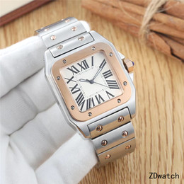 Glass butterfly dresses online shopping - Top Brand Mens Luxury Watch Women Watches Stainless Steel Sapphire Glass Dress Automatic Watch Waterproof Original Clasp Diamond Iced Out