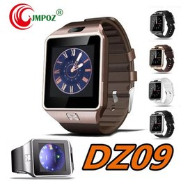 $enCountryForm.capitalKeyWord Australia - Original DZ09 Smart watch Bluetooth Wearable Devices Smartwatch For iPhone Android Phone Watch With Camera Clock SIM TF Slot