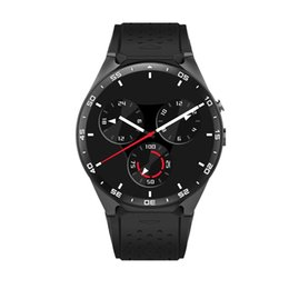 Gps Hd Australia - Bluetooth Smart Watch  MTK6580 Support Wifi GPS 3G Heart Rate SIM HD Camera Luxury Smartwatch  For IOS Android 2018 New