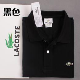 Tennis polo shirTs online shopping - New Mens Polo Shirts Men Desiger Polos Men Crocodile Embroidery Cotton Short Sleeve Shirt Clothes Tennis Polos High Quality