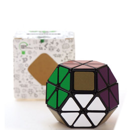 $enCountryForm.capitalKeyWord UK - wholesale Magic cube Eight-axis octahedral embroidery ball black bottom Cube Puzzle Toy Gift